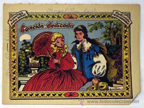GOLONDRINA Nº 181 CANCIÓN DEDICADA ED GRÁFICAS RICART AÑOS 50 (Tebeos y Comics - Ricart - Golondrina)