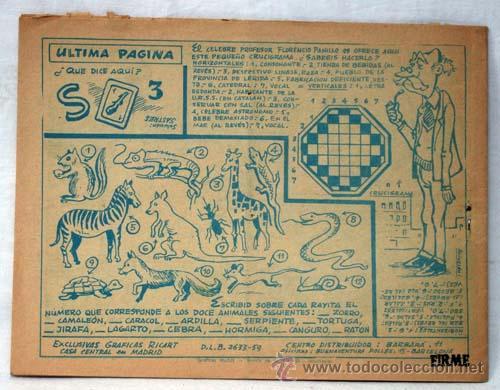 Tebeos: Gardenia azul nº 144 El número de la suerte Ed Gráficas Ricart 1967 - Foto 3 - 10482871