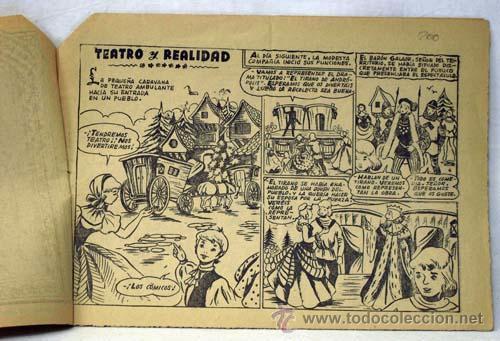 Tebeos: Golondrina nº 278 Teatro y realidad Ed Gráficas Ricart años 50 - Foto 2 - 10483039