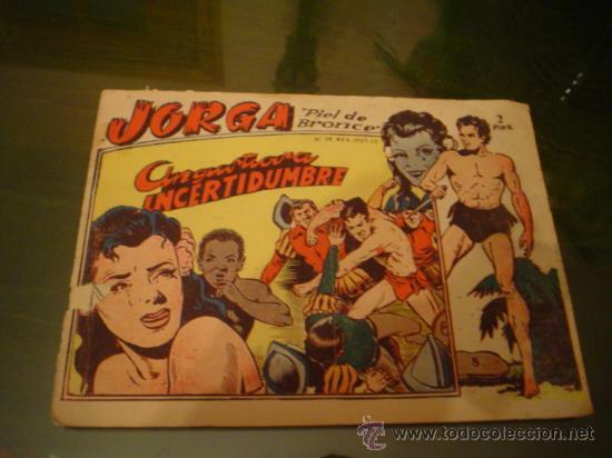 JORGA PIEL DE BRONCE Nº 8 - ORIGINAL (Tebeos y Comics - Ricart - Jorga)
