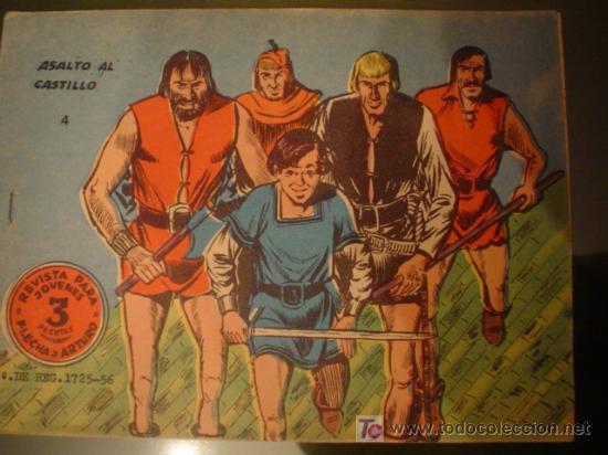 FLECHA Y ARTURO Nº 4 - RICART - ORIGINAL (Tebeos y Comics - Ricart - Flecha y Arturo)