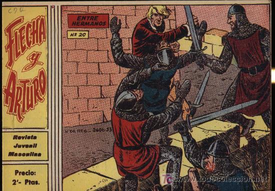 FLECHA Y ARTURO. Nº 20. SIN ABRIR. ¡IMPECABLE! (Tebeos y Comics - Ricart - Flecha y Arturo)