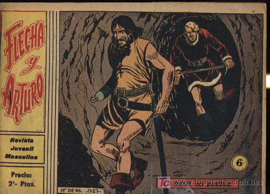 FLECHA Y ARTURO. Nº 6 (Tebeos y Comics - Ricart - Flecha y Arturo)