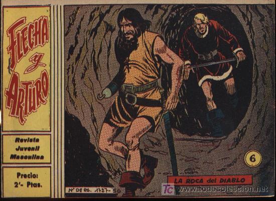 FLECHA Y ARTURO. Nº 6. ¡IMPECABLE! (Tebeos y Comics - Ricart - Flecha y Arturo)
