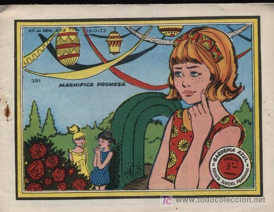 GARDENIA AZUL. Nº 391 (Tebeos y Comics - Ricart - Otros)