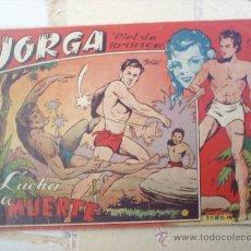 Tebeos: JORGA -PIEL DE BRONCE -TOMO IV-RICART-ORIGINAL ALBUN 1954. Lote 25328796