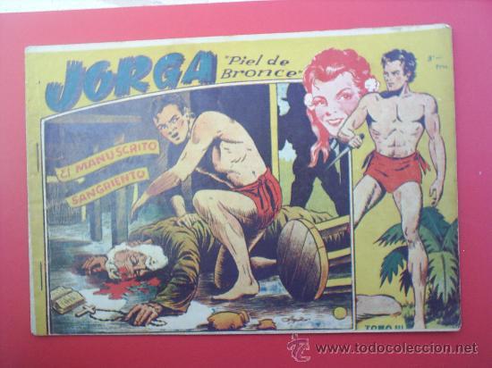 JORGA -PIEL DE BRONCE-TOMO III-RICART- ALBUN 1954 (Tebeos y Comics - Ricart - Jorga)