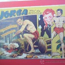 Tebeos: JORGA -PIEL DE BRONCE-TOMO III-RICART- ALBUN 1954. Lote 24991349