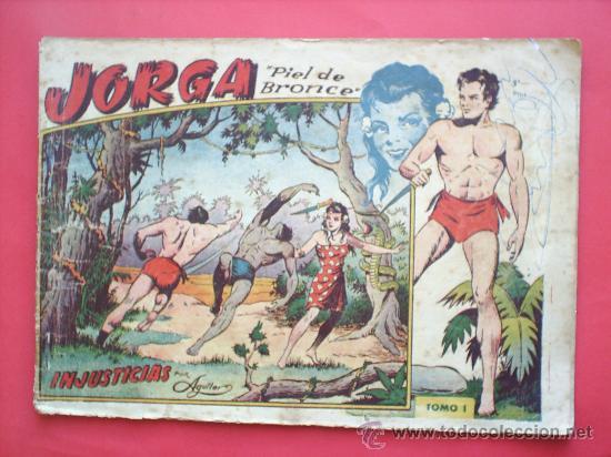 JORGA -PIEL DE BRONCE -TOMO I-RICART-PRIMER ALBUN 1954-. (Tebeos y Comics - Ricart - Jorga)