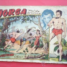 Tebeos: JORGA -PIEL DE BRONCE -TOMO I-RICART-PRIMER ALBUN 1954-.. Lote 27209566