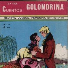 Tebeos: GOLONDRINA.CUENTOS EXTRA Nº 236 (32 PÁGINAS). Lote 21496719