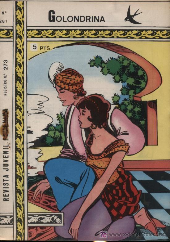 GOLONDRINA. Nº 281 (Tebeos y Comics - Ricart - Golondrina)