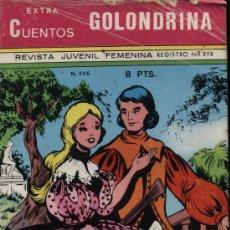 Tebeos: GOLONDRINA.CUENTOS EXTRA Nº 246 (32 PÁGINAS). Lote 21752050