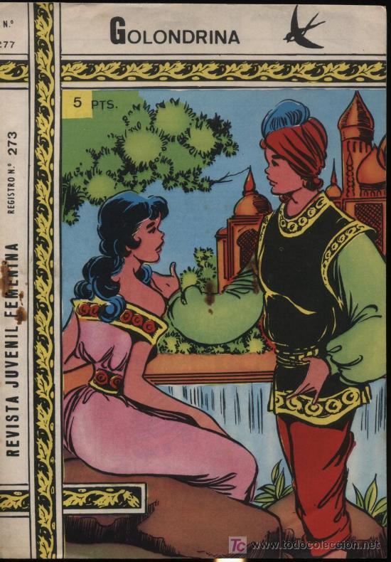 GOLONDRINA. Nº 273 (Tebeos y Comics - Ricart - Golondrina)