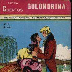 Tebeos: GOLONDRINA.CUENTOS EXTRA Nº 119 (32 PÁGINAS). Lote 21496721