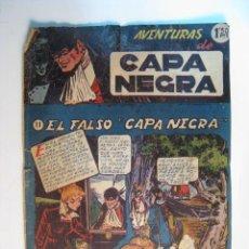 Tebeos: COMIC ORIGINAL AVENTURAS CAPA NEGRA Nº 11 (RICART). Lote 12101000