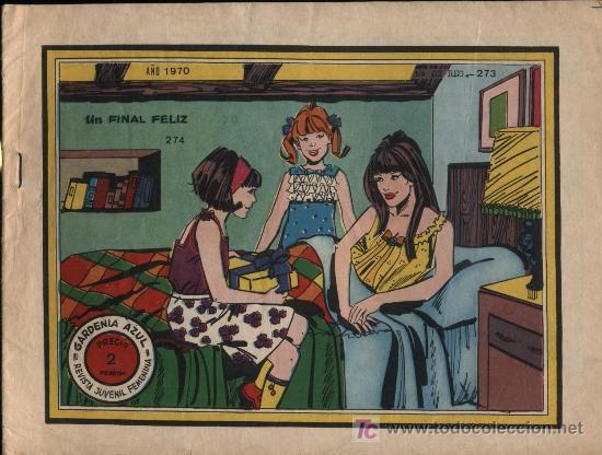 GARDENIA AZUL. Nº 274 (Tebeos y Comics - Ricart - Otros)