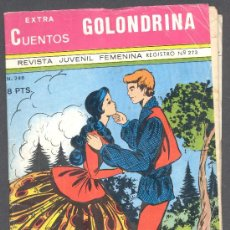 Tebeos: CUENTOS EXTRA GOLONDRINA REVISTA JUVENIL FEMENINA REGISTRO Nº273 EJEMPLAR Nº248. Lote 12584701