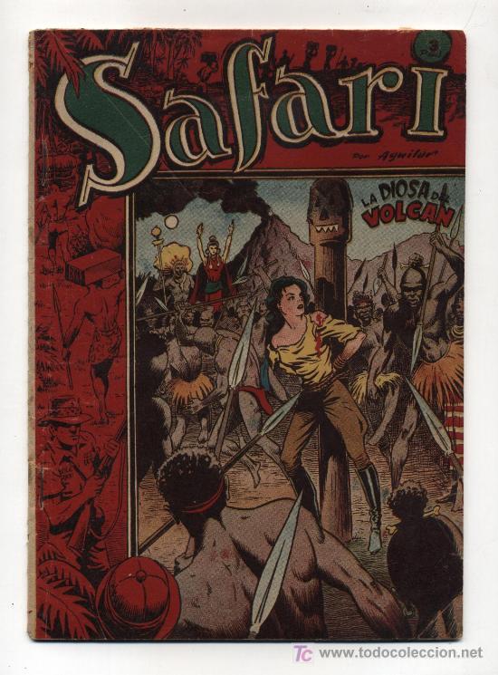 SAFARI. ALBUM TOMO II (Tebeos y Comics - Ricart - Safari)