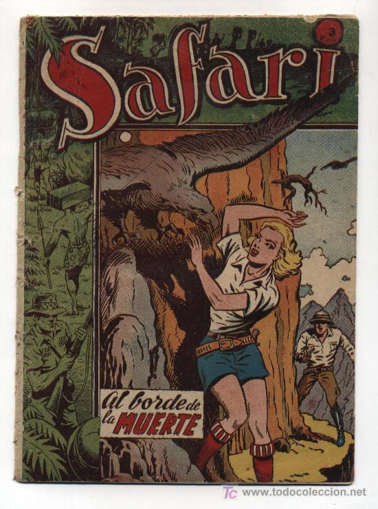 SAFARI ALBUM TOMO III (Tebeos y Comics - Ricart - Safari)