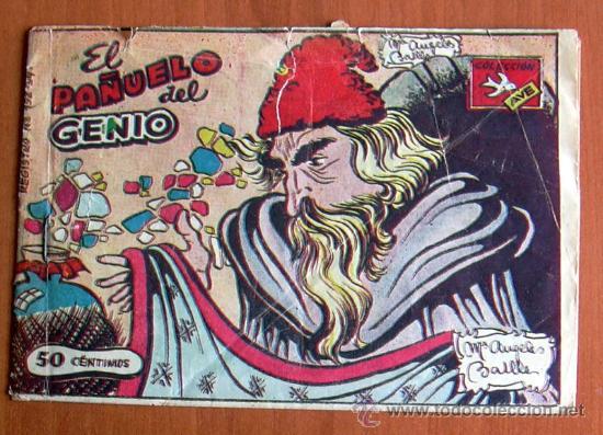 COLECCIÓN AVE Nº 131 - EL PAÑUELO DEL GENIO (Tebeos y Comics - Ricart - Ave)