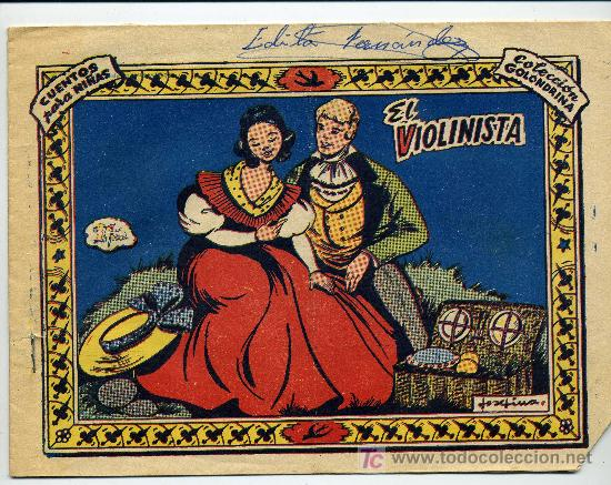 COLECCION GOLONDRINA Nº 168 EL VIOLINISTA - GRAFICAS RICART (Tebeos y Comics - Ricart - Golondrina)