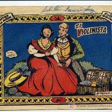 Tebeos: COLECCION GOLONDRINA Nº 168 EL VIOLINISTA - GRAFICAS RICART. Lote 26283249
