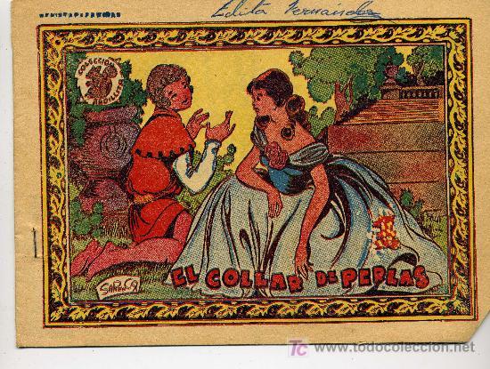 COLECCION ARDILLITA Nº 696 EL COLLAR DE PERLAS - GRAFICAS RICART (Tebeos y Comics - Ricart - Otros)