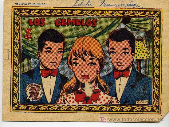 COLECCION ARDILLITA Nº 700 LOS GEMELOS - GRAFICAS RICART (Tebeos y Comics - Ricart - Otros)