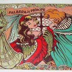 Tebeos: COLECCION GACELA - LA PALABRA DEL PRINCIPE - Nº 15 - TAL Y COMO SE VE EL LA FOTOGRAFIA.. Lote 14068515