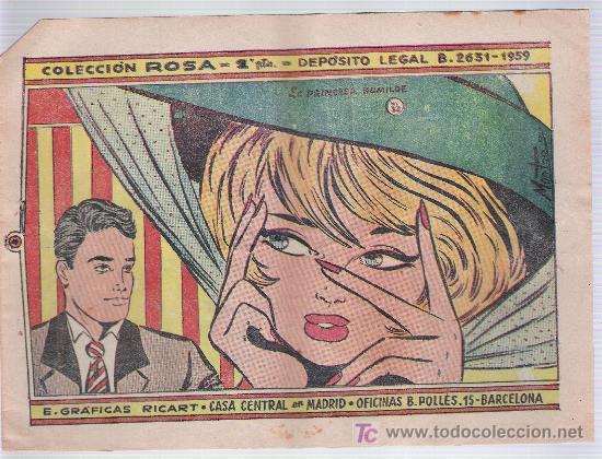 ROSA Nº 32. RICART 1959. (Tebeos y Comics - Ricart - Otros)