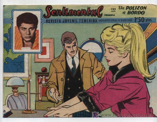 SENTIMENTAL Nº 139. (Tebeos y Comics - Ricart - Sentimental)