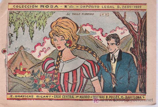 ROSA Nº 35. RICART 1959. SIN ABRIR (Tebeos y Comics - Ricart - Otros)