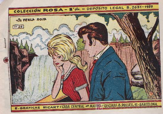 ROSA Nº 24. RICART 1959 (Tebeos y Comics - Ricart - Otros)
