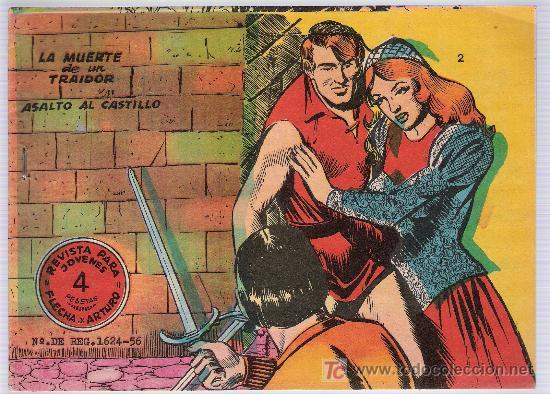 FLECHA Y ARTURO Nº 2. (DOS CUADERNILLOS EN UNO) 4 PTAS. (Tebeos y Comics - Ricart - Flecha y Arturo)