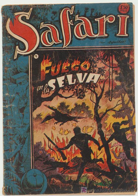 SAFARI Nº 9. RICART 1953. (Tebeos y Comics - Ricart - Safari)