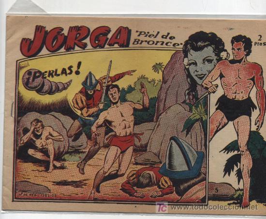 JORGA Nº 5. RICART 1963. ¡IMPECABLE! (Tebeos y Comics - Ricart - Jorga)