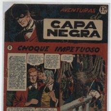 Tebeos: CAPA NEGRA Nº 2. RICART 1953.. Lote 26057348