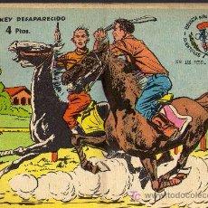 Tebeos: AVENTURAS DEPORTIVAS - EL JOCKEY DESAPARECIDO - GRAFICAS RICART 1963 - ORIGINAL, NO FACSIMIL . Lote 16003169