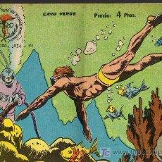 Tebeos: AVENTURAS DEPORTIVAS - CAYO VERDE - GRAFICAS RICART 1963 - ORIGINAL, NO FACSIMIL . Lote 16003192