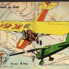 Tebeos: AVENTURAS DEPORTIVAS - HEROES DEL AIRE - GRAFICAS RICART 1963 - ORIGINAL, NO FACSIMIL . Lote 16003349