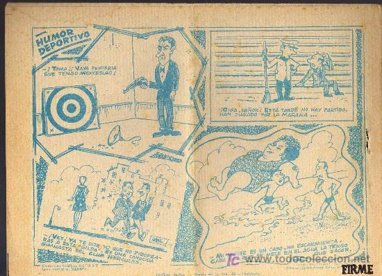 Tebeos: AVENTURAS DEPORTIVAS - EL JOCKEY DESAPARECIDO - GRAFICAS RICART 1963 - ORIGINAL, NO FACSIMIL - Foto 2 - 16003169
