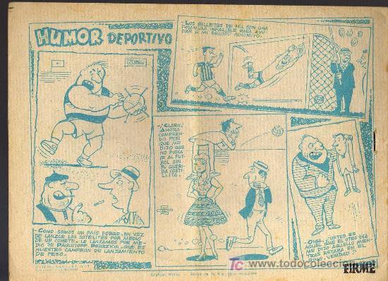 Tebeos: AVENTURAS DEPORTIVAS - CAYO VERDE - GRAFICAS RICART 1963 - ORIGINAL, NO FACSIMIL - Foto 2 - 16003192