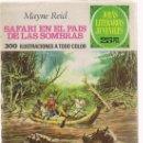 Tebeos: 'SAFARI EN EL PAIS DE LAS SOMBRAS' MAYNE REID, Nº 145. 1975. Lote 26957018
