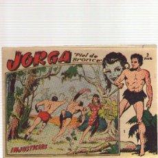 Tebeos: JORGA NUMERO 1 (ORIGINAL) - CJ30. Lote 26508931