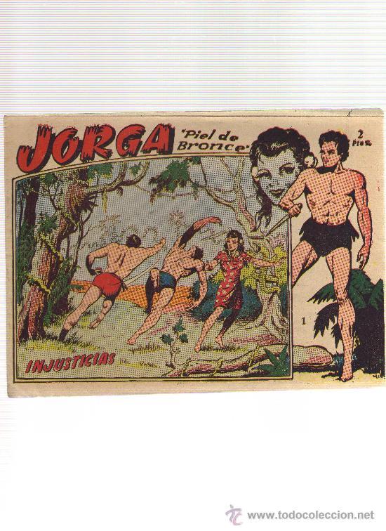 JORGA NUMERO 1 (ORIGINAL) - CJ30 (Tebeos y Comics - Ricart - Jorga)