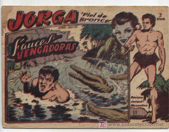 JORGA Nº 11. RICART (2 PTAS) (Tebeos y Comics - Ricart - Jorga)