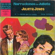 Tebeos: PUBLICACION GRAFICA PARA ADULTOS. NARRACIONES DE JULIETA. Nº 7. SENTIMENTAL... Lote 17351885