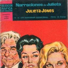 Tebeos: PUBLICACION GRAFICA PARA ADULTOS. NARRACIONES DE JULIETA. Nº 8. SENTIMENTAL... Lote 17351894