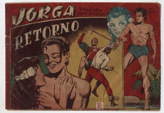 JORGA Nº 18. ULTIMO DE LA COLECCIÓN. (Tebeos y Comics - Ricart - Jorga)